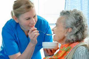 Managing residents with dysphagia